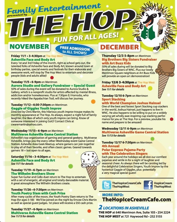 7640 the hop events